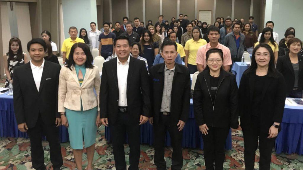 """ภาพบรรยากาศการฝึกอบรม """"หลักสูตรการพัฒนาทักษะการเป็นหัวหน้างานสำหรับผู้ประกอบการ SME"""" รุ่นที่ 5"""